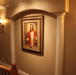 Hallway, DM Builders, Idaho home builder